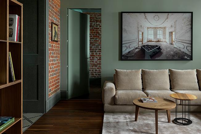 Елена Дроботова: красивая квартира в старом доме