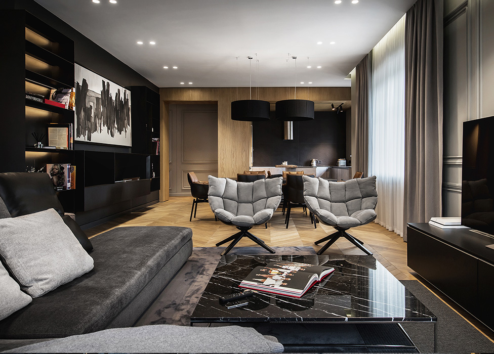 YoDezeen: апартаменты для семьи инвестбанкира