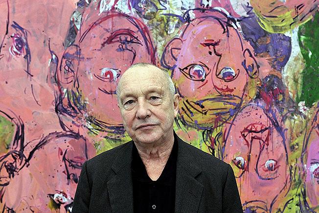 Художник Георг Базелиц отмечает 80