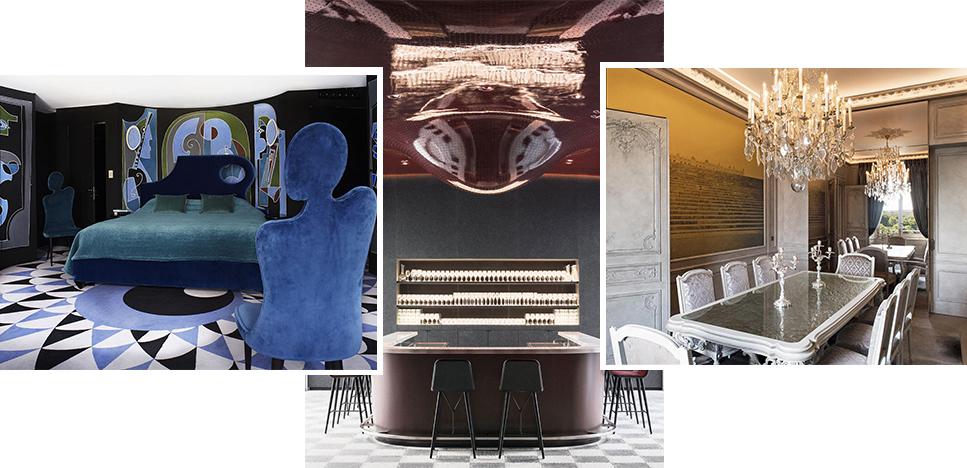5 роскошных и дизайнерских отелей Парижа
