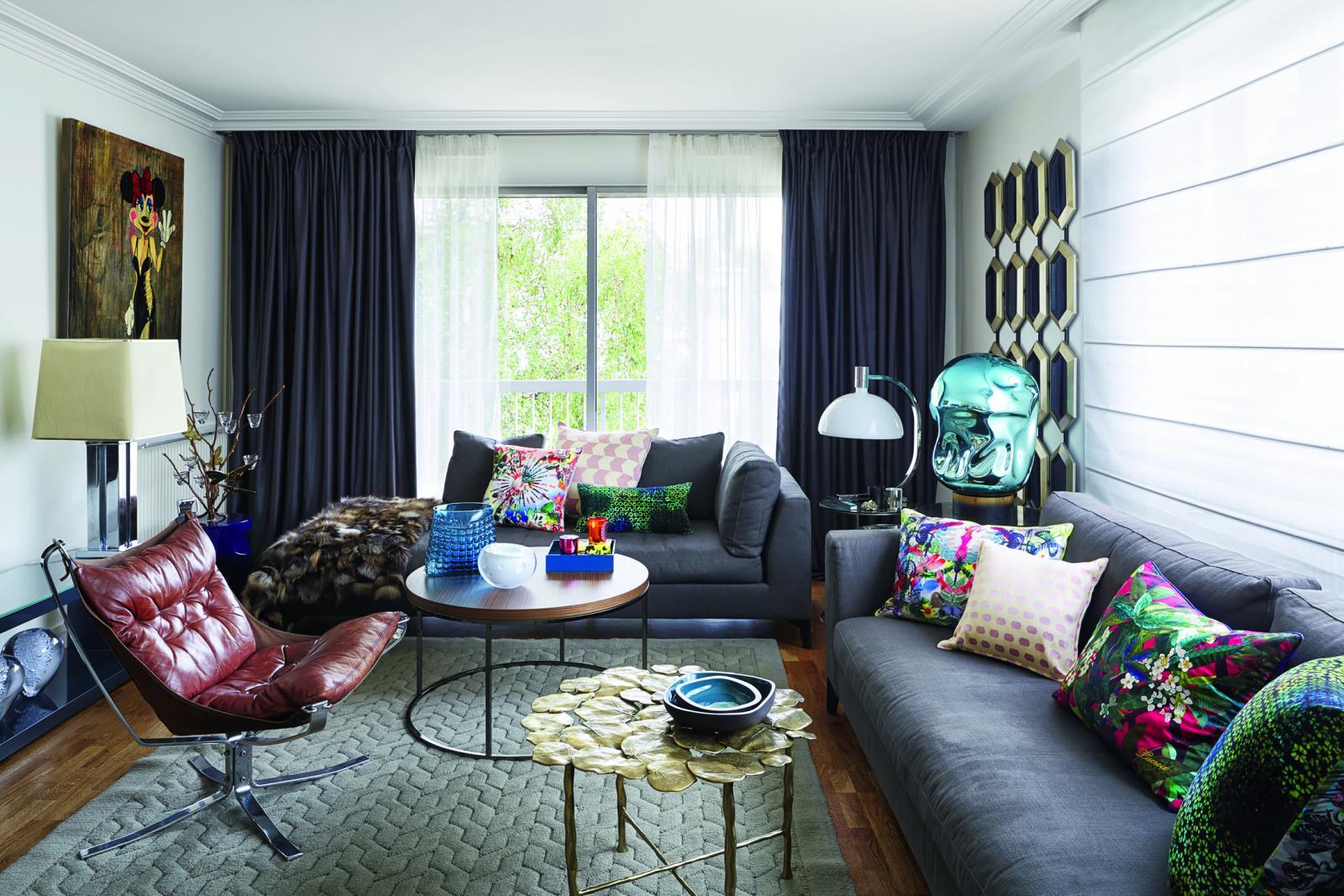 Александра Постер Беннейм об интерьерном дизайне и квартире в Лондоне