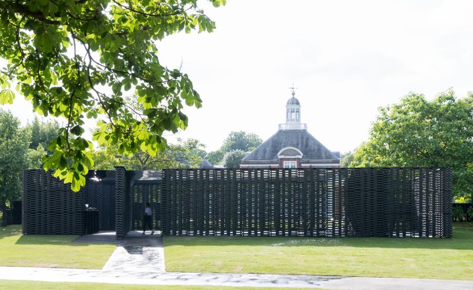 Черный павильон в Гайд-парке