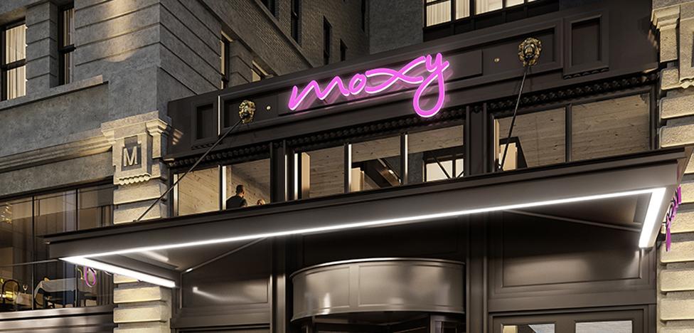 Отель Moxy в Нью-Йорке: городской кемпинг с Yabu Pushelberg