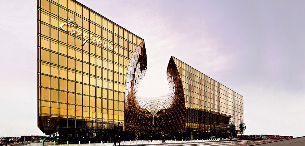 Архитектура и торговля: золотые перспективы