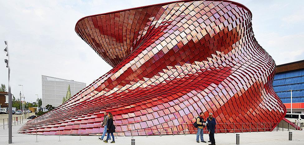 Хиты Expo в Милане. Экспериментальная архитектура павильонов