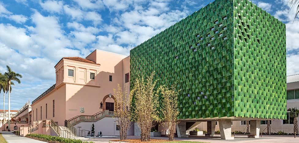 Machado Silvetti и новое здание музея Ринглинга во Флориде