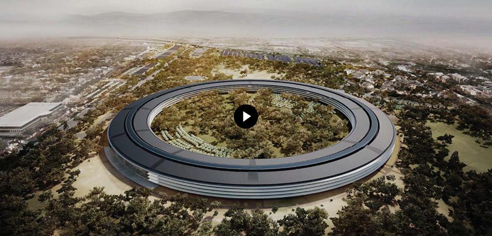 Норман Фостер (Norman Foster): строительство кампуса Apple