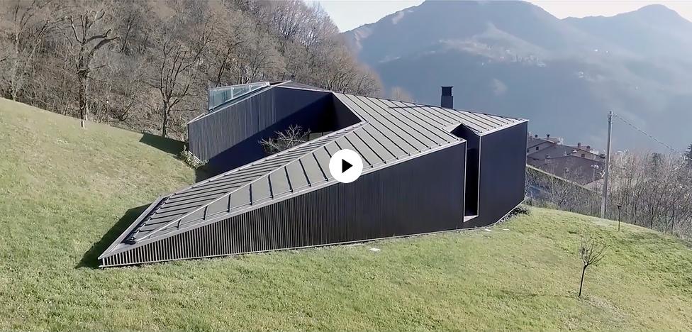 Camillo Botticini Architetto: вилла в Альпах