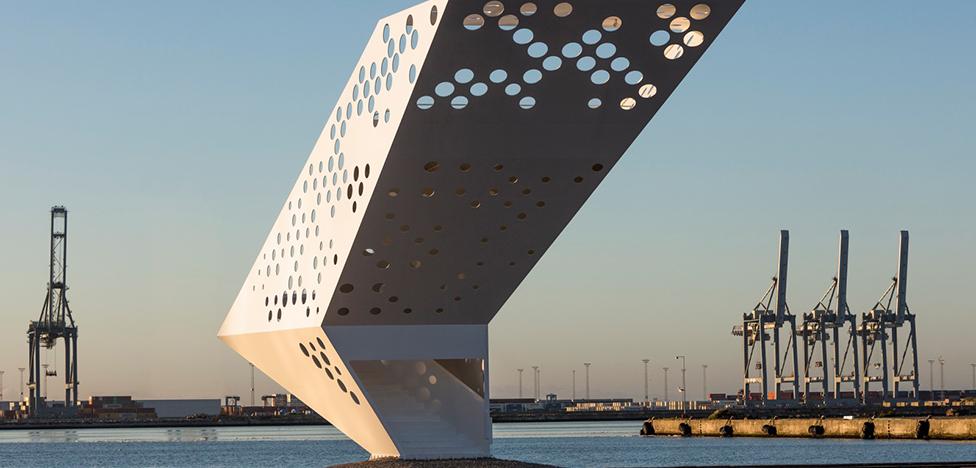 Dorte Mandrup Arkitekter: башня в доках