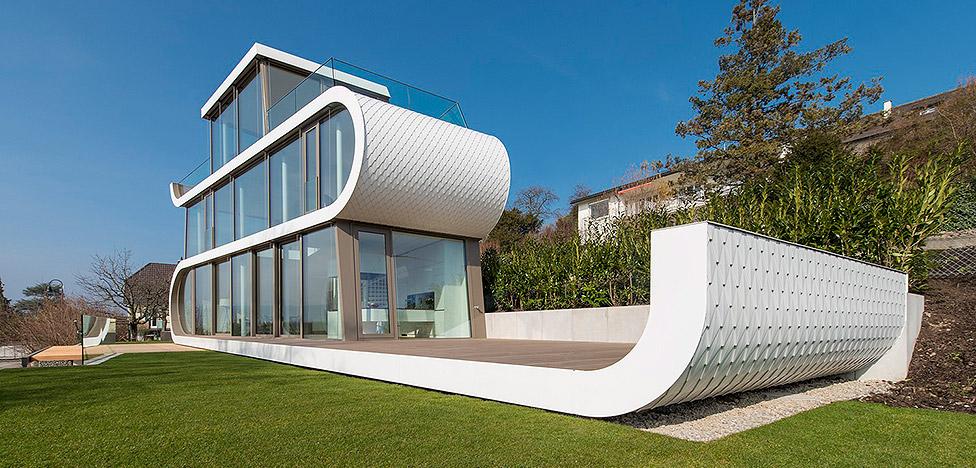 Evolution Design: дом-лента в Швейцарии