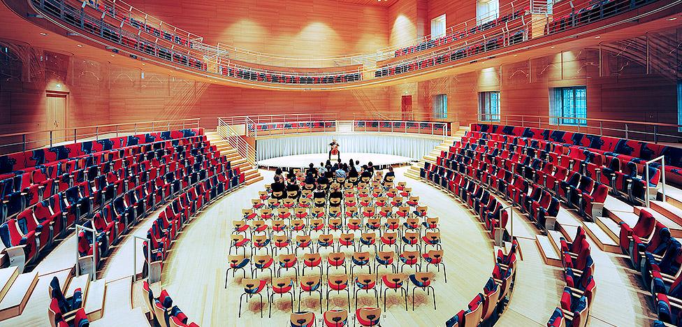 Фрэнк Гери: концертный зал им. Пьера Булеза в Берлине