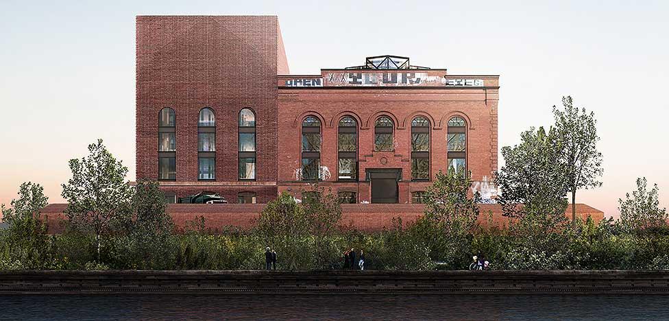 Herzog& de Meuron: электростанция в Нью-Йорке