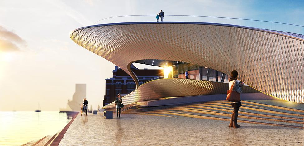 Музей MAAT: британская архитектура в Лиссабоне