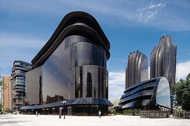 Бюро MAD: урбанистические горы Пекина
