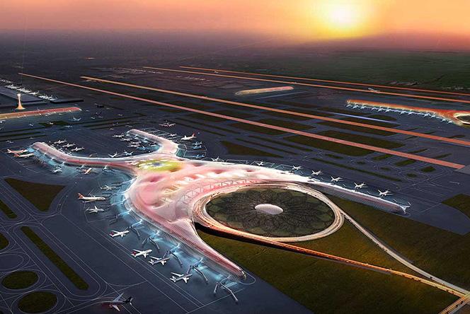 Норман Фостер (Norman Foster): аэропорт в Мехико