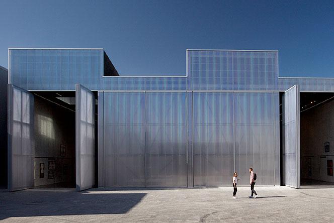 OMA: павильон культурного центра Alserkal Avenue в Дубае