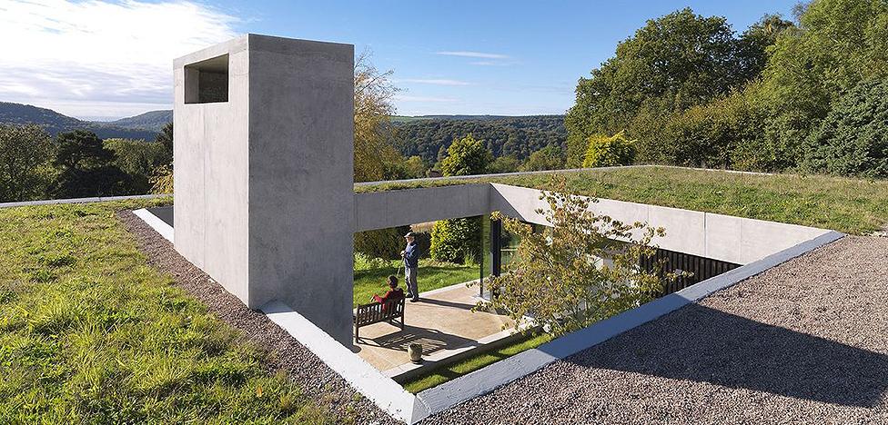 Дом художников в Королевском лесу от Loyn & Co Architects