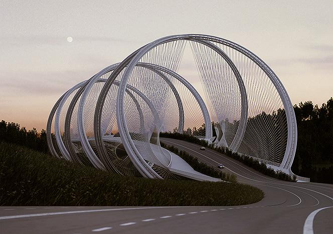 Олимпийские игры 2022: мост через речку Гуй