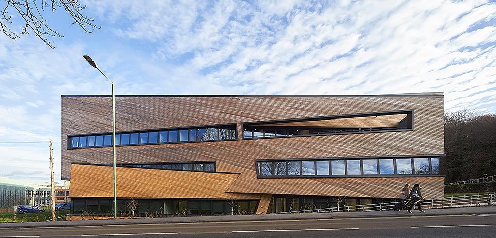 Даниэль Либескинд (Daniel Libeskind): камерный Центр Огдена в Дареме