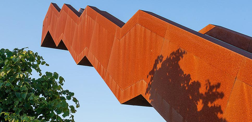 Архитектура и ландшафт: лестница в небо