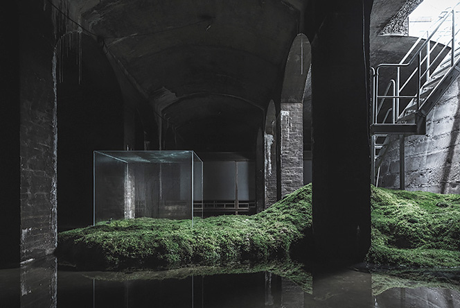 Хироши Самбуичи (Hiroshi Sambuichi): архитектура в подземелье