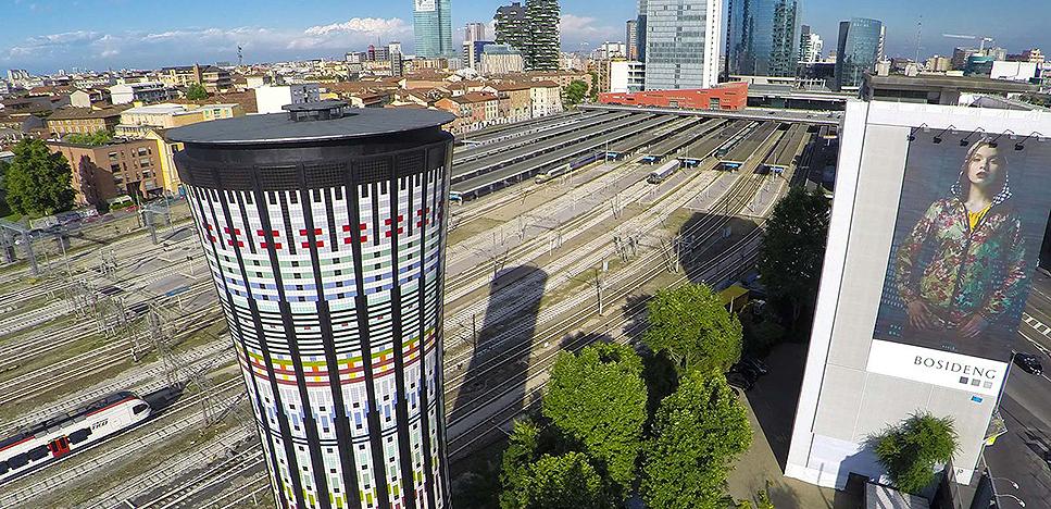 Torre Arcobaleno, «Башня Радуги»: новый Милан на видео, снятом дроном