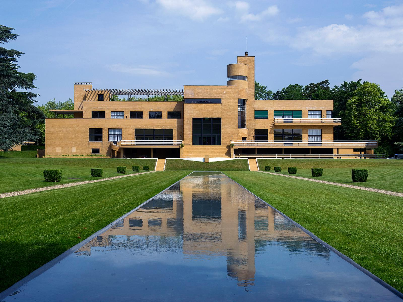 Вилла Кавруа: архитектурный шедевр Робера Малле-Стивенса