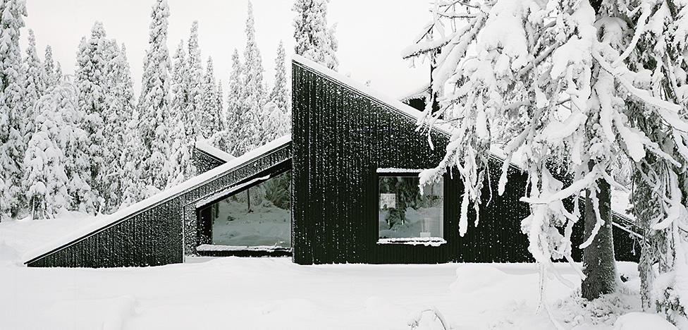 Архитекторы Vindheim: дом под снегом
