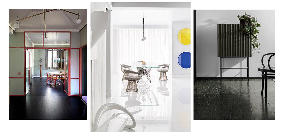 Пол: черный или белый? 21 решение от дизайнеров