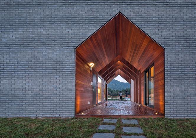 Rieuldorang Atelier: дом-парадокс в Южной Корее