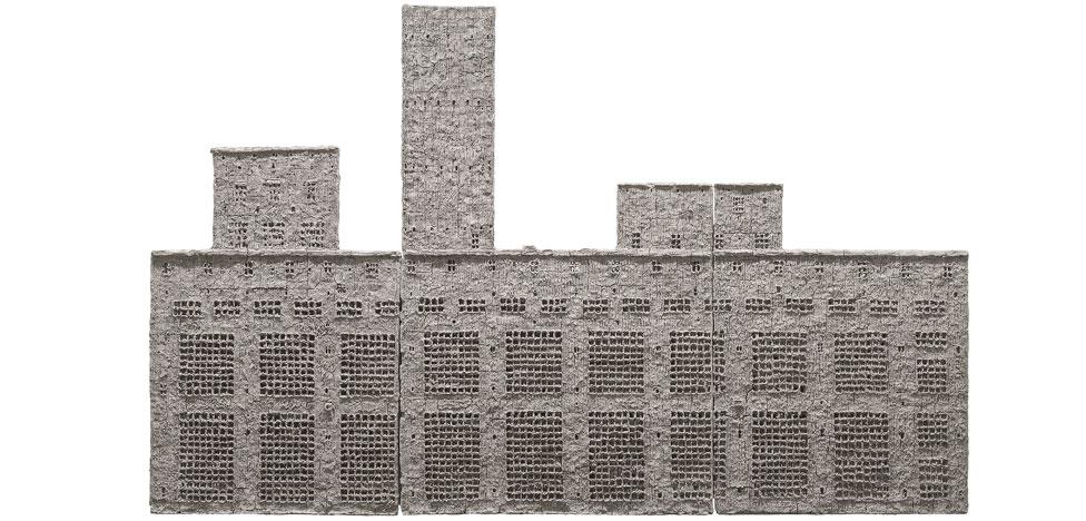 Александр Бродский в Лондоне: рельефы на восковой бумаге