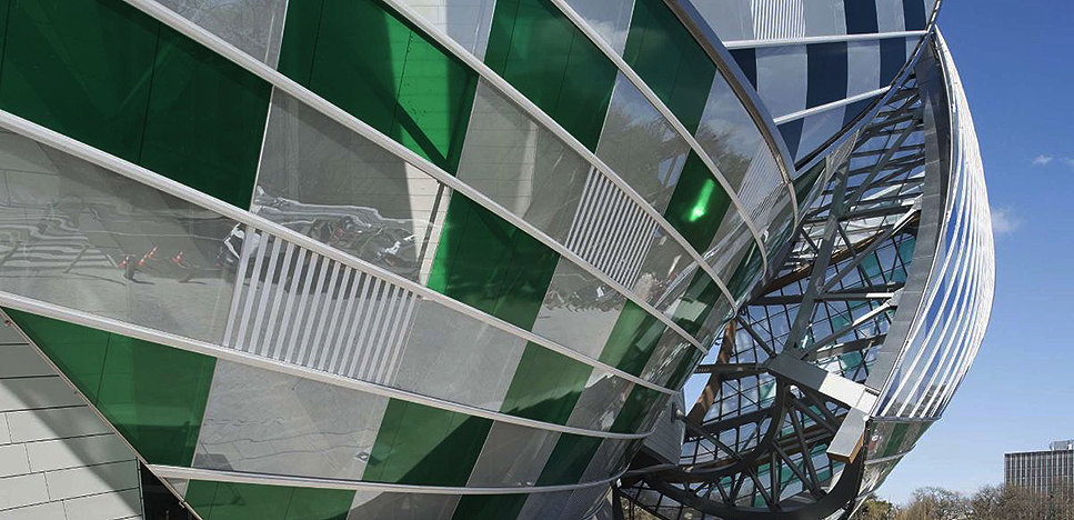Даниэль Бюрен (Daniel Buren): выставка в Fondation Louis Vuitton
