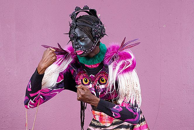 Новые амазонки: коллекция постеров Шарля Фреже для Manish Arora
