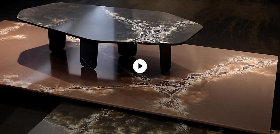 Арик Леви (Arik Levy): столы из камня