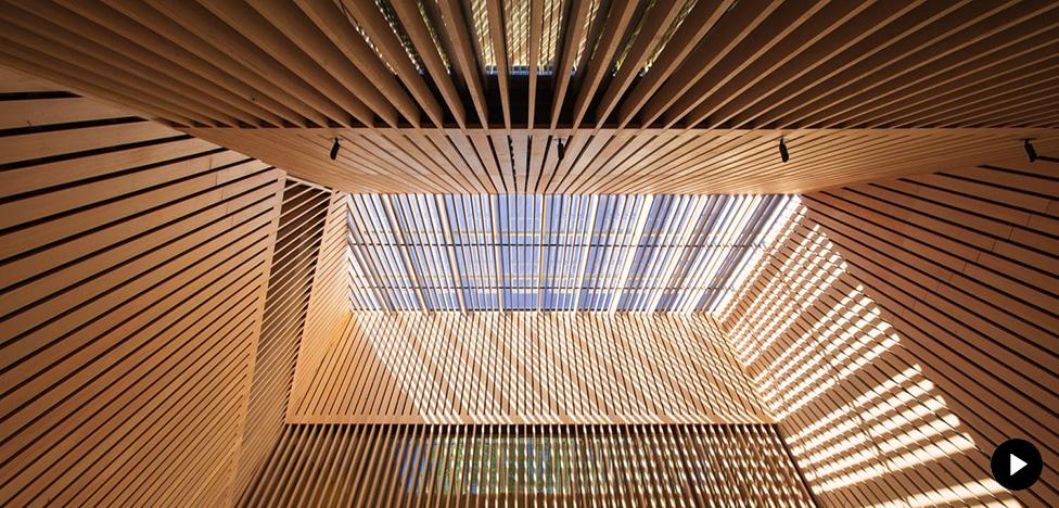Деревянная архитектура в Канаде. Лучшее