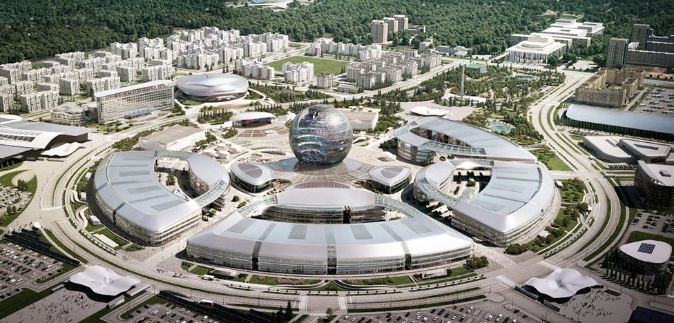 EXPO 2017 в Астане: архитектура Adrian Smith + Gordon Gill