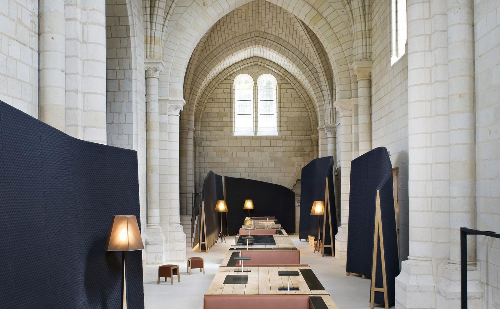 Уединиться в Фонтевро: уникальный отель во французском аббатстве