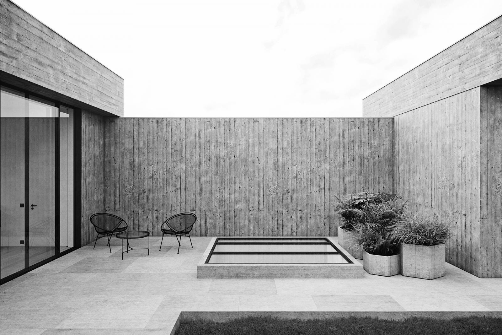 Николас Шхаубрук: бетонный пентхаус в Антверпене