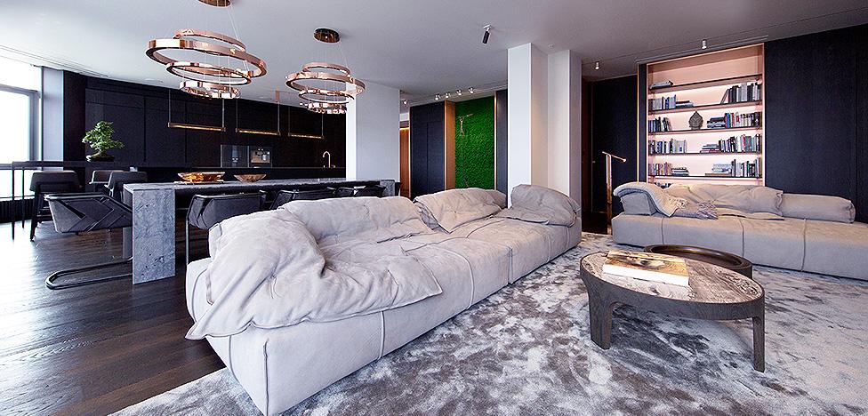 YoDezeen в Киеве: большие метры, ценные материалы, мебель лучших брендов