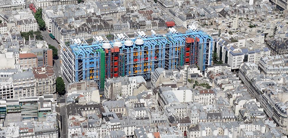 Центр Помпиду: 40 лет главному музею современного искусства во Франции