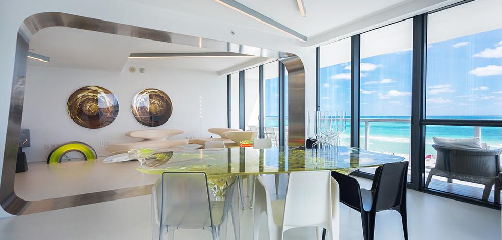 Заха Хадид: резиденция звезды в Майами продана
