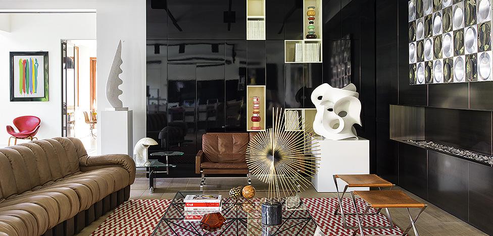 Дизайн 70-х: дом семьи Боубес в Бейруте
