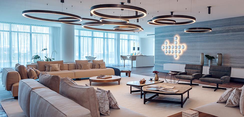 Palazzo Del Sol в Майами: квартира с видом на океан
