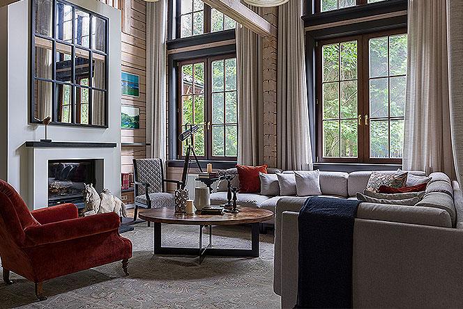PropertyLab+art: подмосковная дача для большой семьи