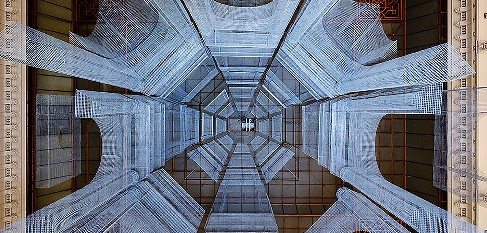 Башни Тресолди в универмаге