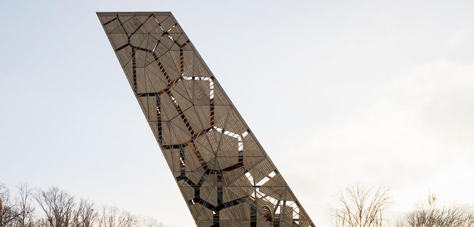 RO&AD architecten: смотровая башня в Брабанте