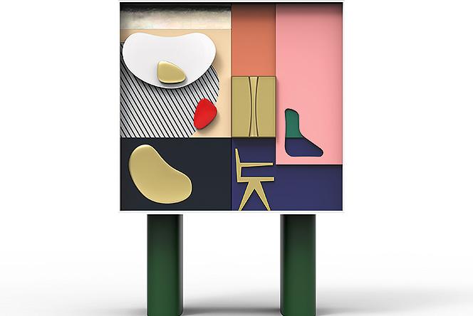 «Объект преданности» или фарфоровый шкаф для Ле Корбюзье