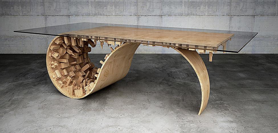Стелиос Муссарис (Stelios Mousarris): столы-мегаполисы