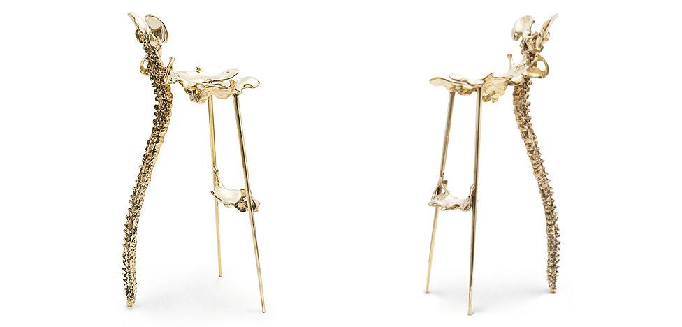 Жипень Тана (Zhipeng Tan): стул из костей