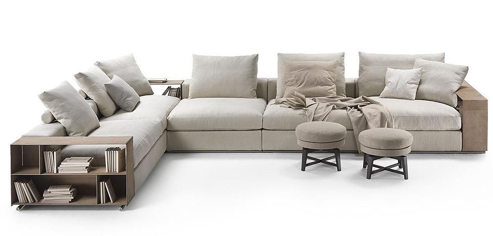 Антонио Читтерио: диван Groundpiece для Flexform — 15 лет успеха
